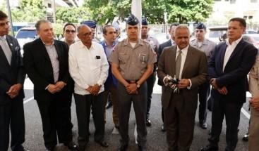 La Junta Agroempresarial Dominicana entrega a la policía vehículos para patrullaje