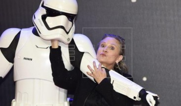 Carrie Fisher, un año de lágrimas por la princesa Leia