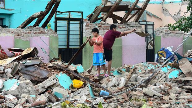 Con dolor y esperanza pasan Navidad los damnificados de los sismos en México