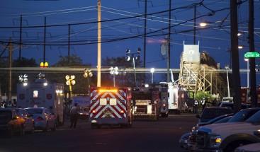 Operativo de emergencia a gran escala por el descarrilamiento de un tren en EEUU