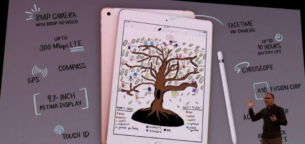 Apple lanza iPad compatible con lápiz digital a precio reducido