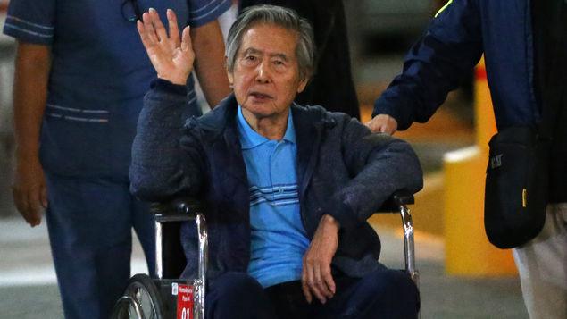 Expresidente Fujimori internado por problemas gástricos