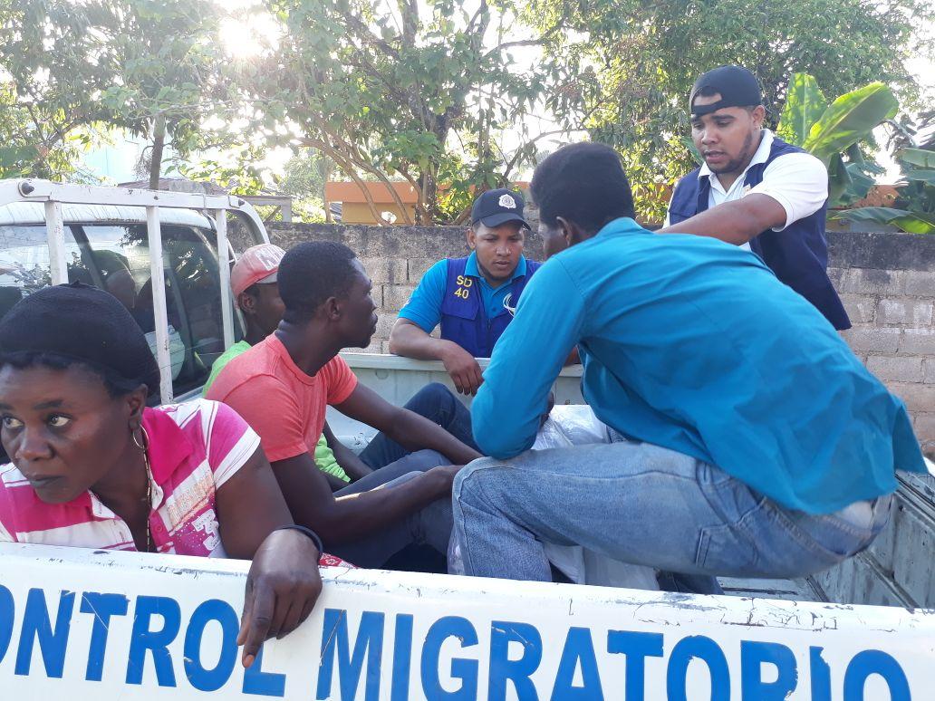 Más de 200 extranjeros fueron detenidos en Las Terrenas