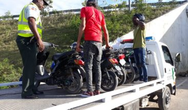 Digesett incauta varias motocicletas en distintos puntos de SPM