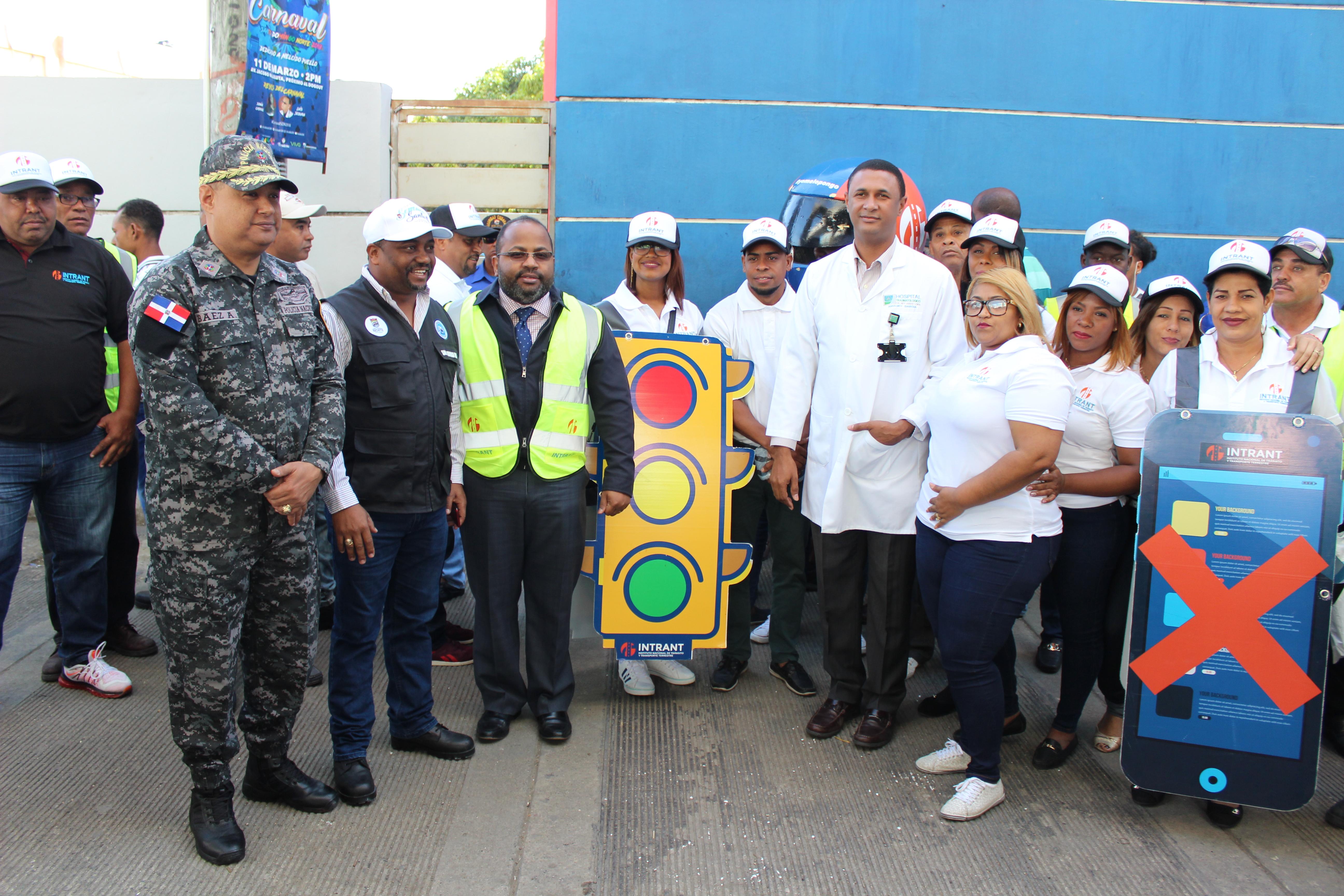 Instituciones desarrollan operativo de prevención en Villa Mella
