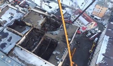 Declaran 28 de marzo día de luto nacional por la tragedia de Kémerovo