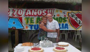 Captado en cámara momento en que atropellan a un anciano en Argentina