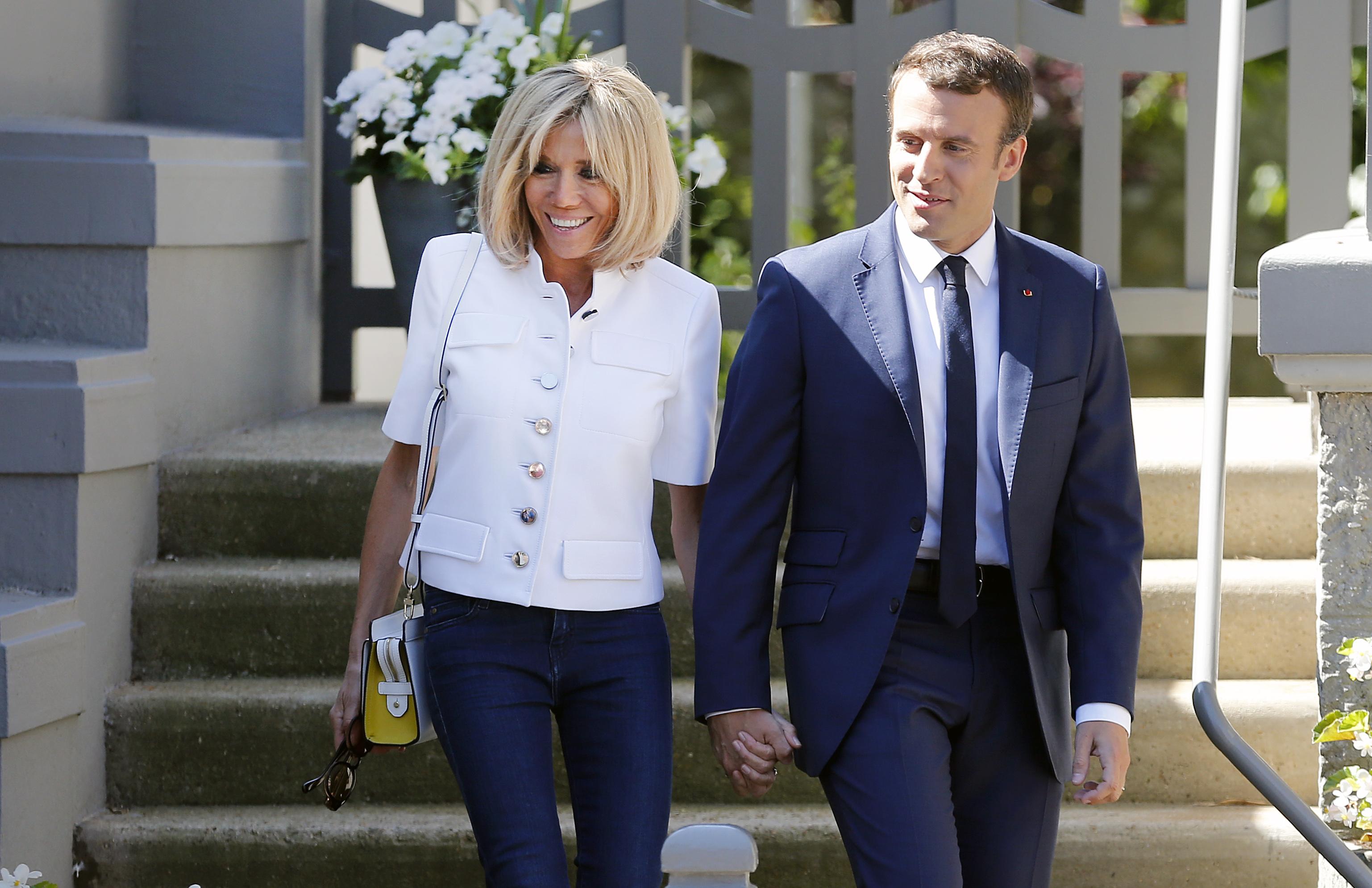 Brigitte Macron, víctima de una usurpación de identidad