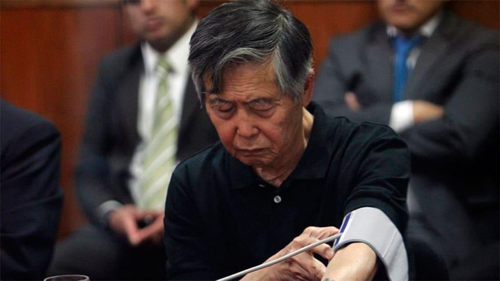 Fujimori es dado de alta de clínica tras mejorar de problema gástrico