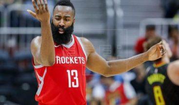 Triples de Harden y Green lideran remontada y triunfo de Rockets