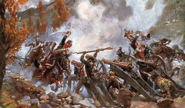 La Batalla del 30 de Marzo de 1844  o Batalla de Santiago