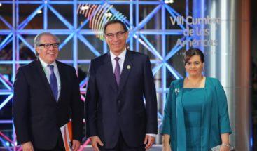 Vizcarra y Almagro inauguran la VIII Cumbre de las Américas