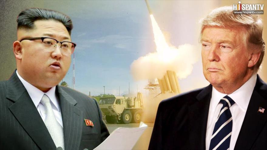 Trump quiere que Corea del Norte