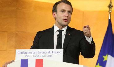 Macron cree que Trump romperá el acuerdo nuclear con Irán