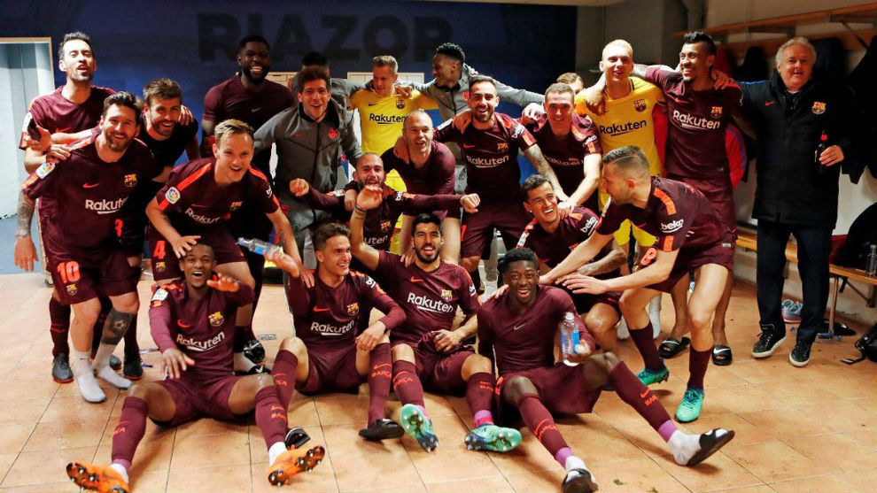 El FC Barcelona, campeón de la Liga 2017-18