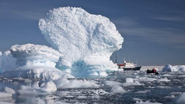 Descubren que un proceso antártico contribuye a cambio climático