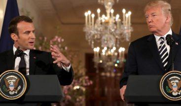 Macron deja claro su contraste con Trump en discurso ante Congreso EEUU