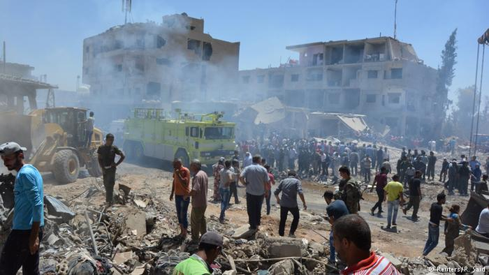 Al menos 66 muertos por ataques del EI en el sur y el este de Siria
