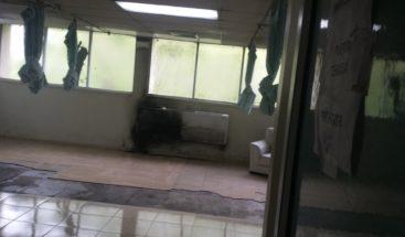 Incendio afecta área Cuidados Intensivos del hospital Dr. Antonio Musa