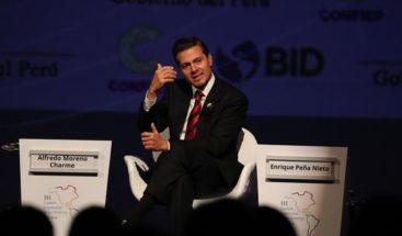 Vicepresidente EEUU se reunirá con Peña Nieto en Cumbre