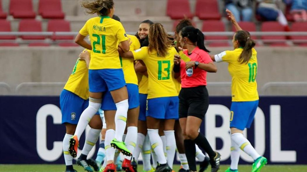 Brasil aseguró su puesto en el Mundial femenino Francia 2019
