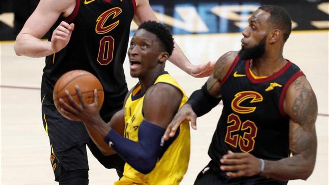 Oladipo tenía razón, NBA considera que tapón de James fue interferencia