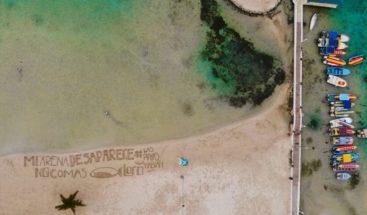 60 playas dominicanas hablan por la preservación del Pez Loro