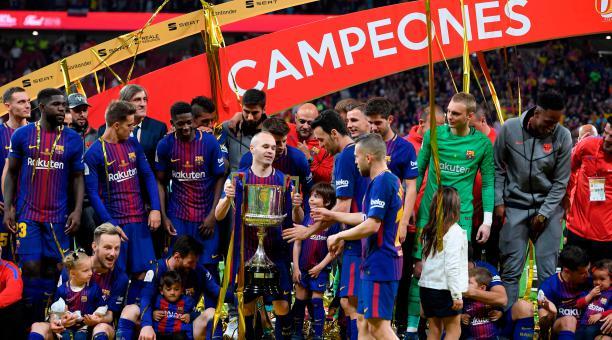El Barça golea 5-0 al Sevilla y se proclama campeón de Copa por trigésima vez