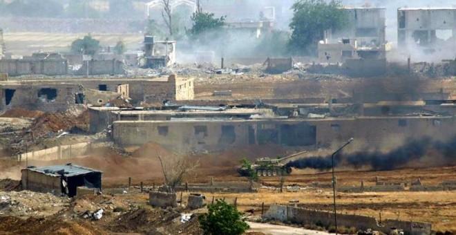Al menos 26 muertos y 60 heridos en ataque a base con tropas iraníes en Siria