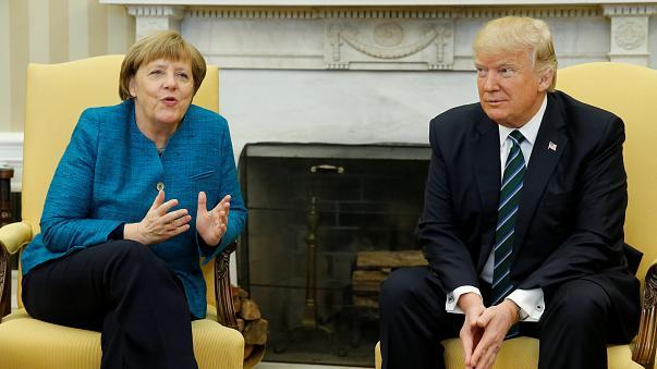 Trump recibirá pronto a Merkel en la Casa Blanca