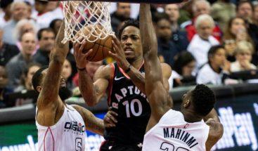 Beal y Wall destrozan a defensa de Raptors y dan triunfo a Wizards