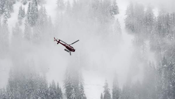 Tres españoles muertos y dos heridos en avalancha de nieve en Suiza