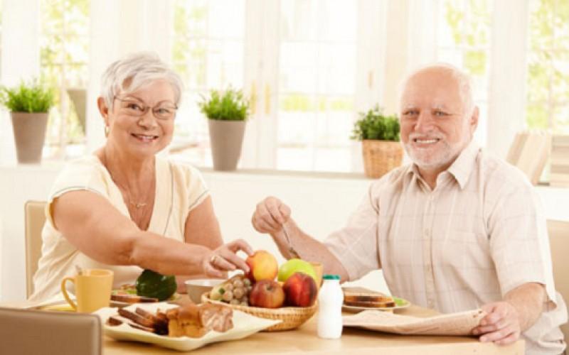 Alimentación sana y atractiva en la tercera edad