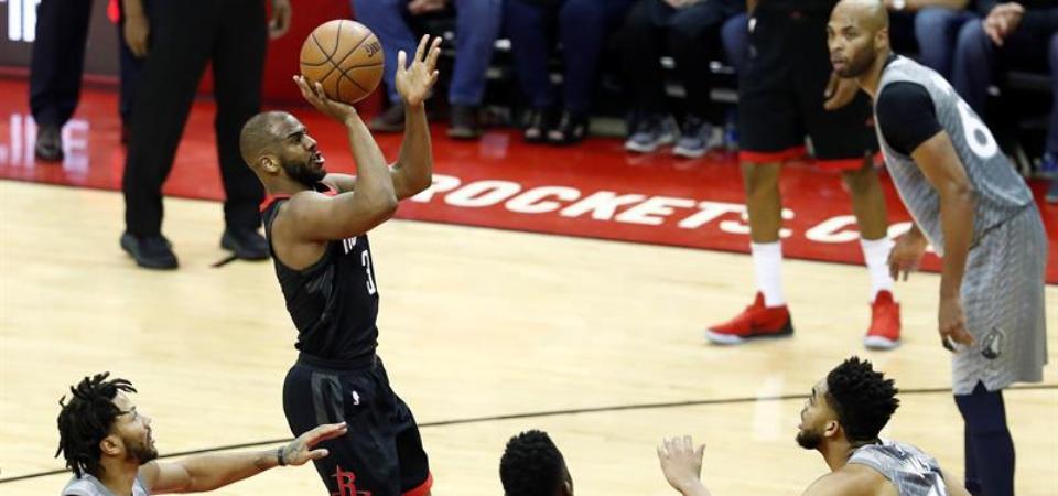 Triunfos ajustados de Rockets, Celtics y Thunder