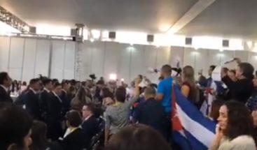 Escándalo de la delegación cubana en la Cumbre de las Américas