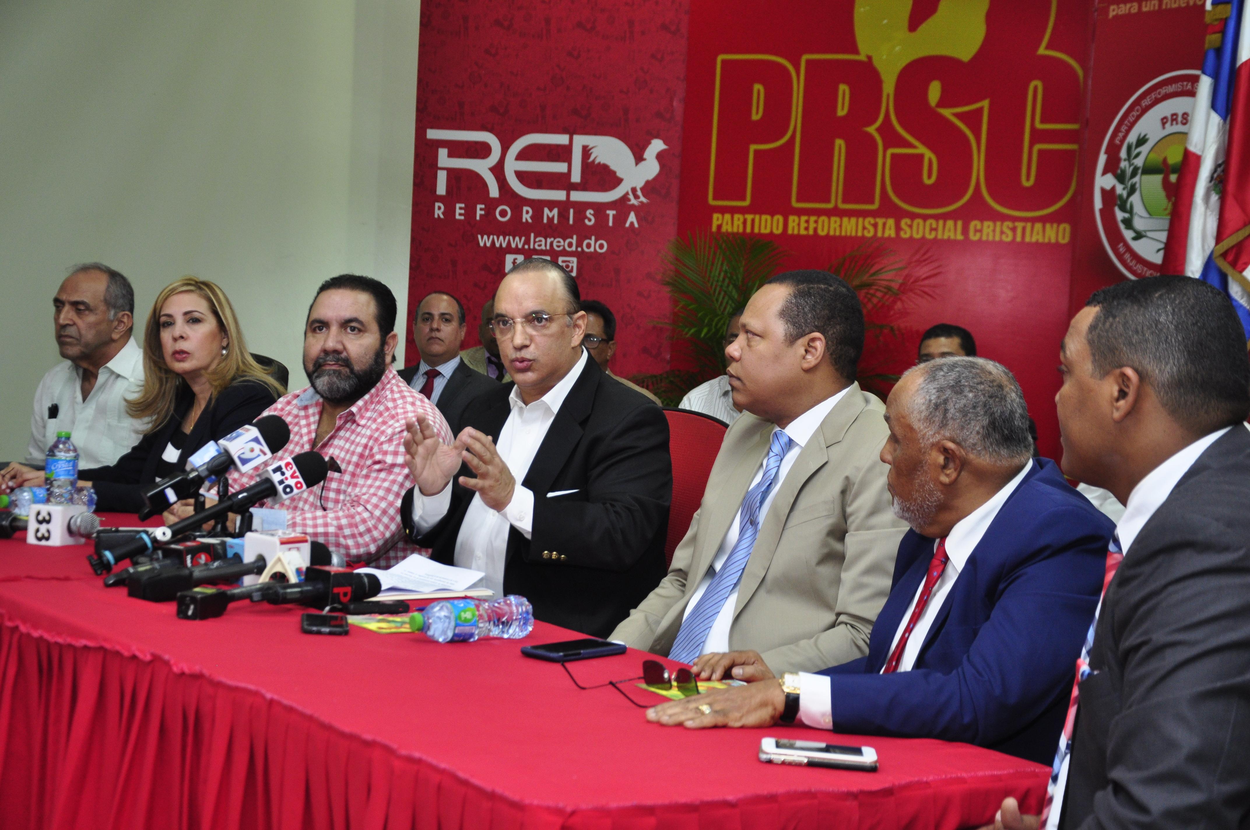 """PRSC define sentencia TSE de """"barbarie""""; llevarán el caso al TC"""