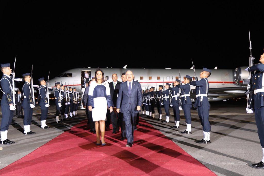 Medina es el primer mandatario en llegar a Cumbre de las Américas