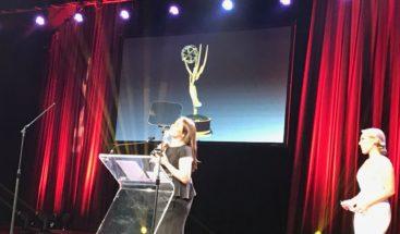 La Dominicana Esperanza Ceballos gana premio Emmy en Nueva York