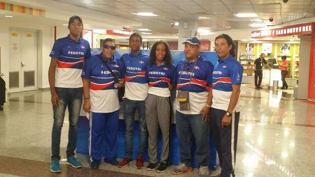 Tres triatletas de RD competirán en Campeonato Panamericano en Ecuador