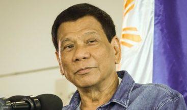Duterte insta al Congreso a aprobar la pena de muerte para delitos de drogas
