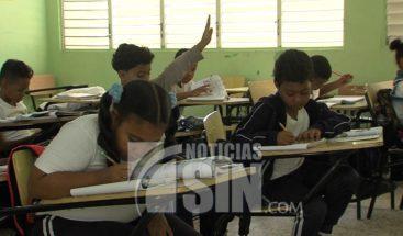Asistencia en las escuelas fue mínima en el Gran Santo Domingo