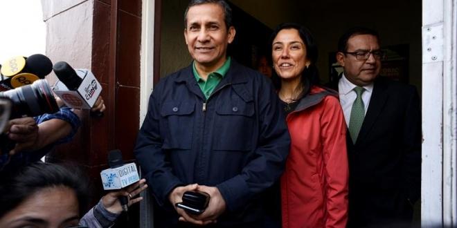 Humala y su esposa permanecen en prisión a la espera de su excarcelación