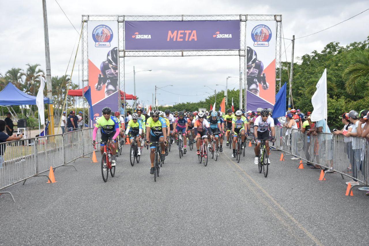 Realizan primera carrera de Campeonato de Ciclismo Sigma 2018