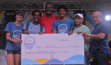 ADN premia actividades deportivas que efectuaron durante Semana Santa