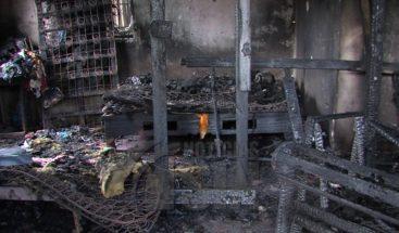 Dan último adiós a hermanitos murieron calcinados en Sabana Perdida
