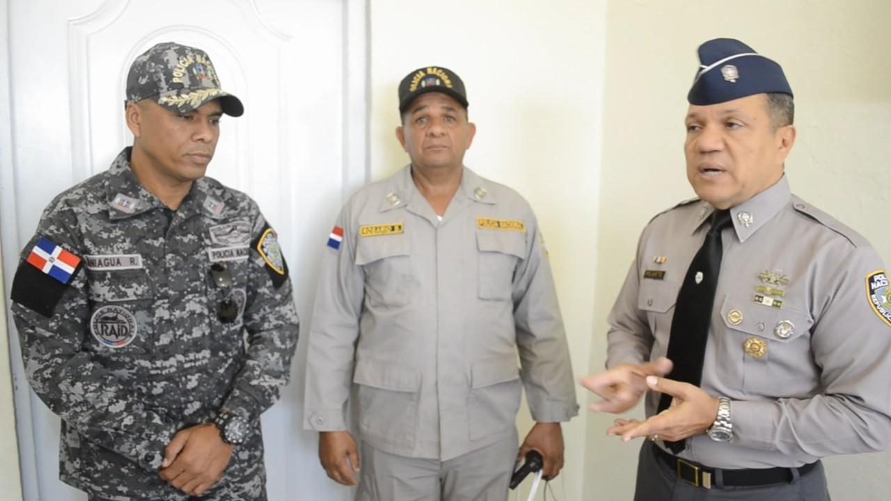 Posicionan a un nuevo comandante en el municipio Villa Hermosa