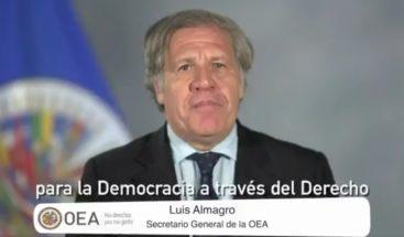 Luis Almagro: La reelección no es un derecho humano