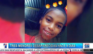Menores desaparecidas desde hace 9 días; extranjero investigado por caso