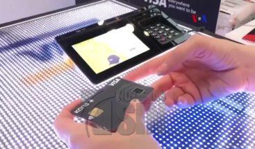 Tarjetas de crédito permiten pagar usando huellas dactilares