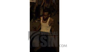 Intentan linchar a presunto ladrón de bancas en Pueblo Nuevo de Santiago